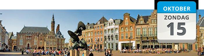 Stoffenmarkt Grote Markt Haarlem
