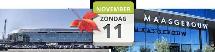 stoffenmarkt de Kuip Rotterdam