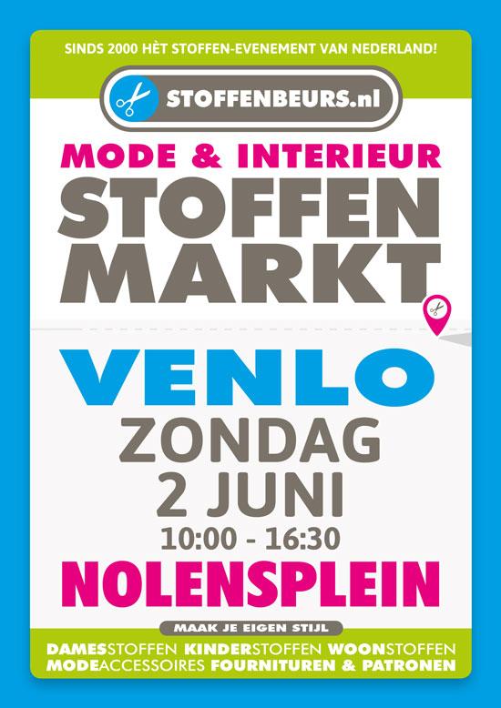 Stoffenbeurs Nolensplein Venlo