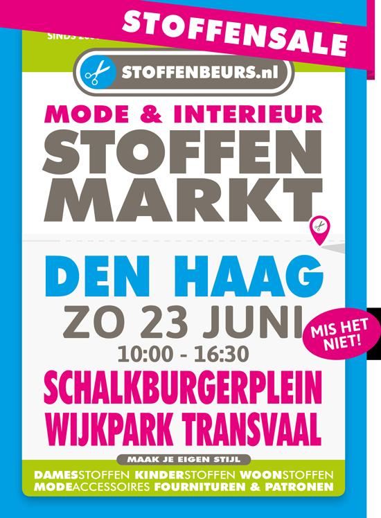 stoffenmarkt-Schalkburgerplein Wijkpark Transvaal Den Haag