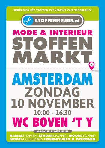 stoffenmarkt Amsterdam 10 november