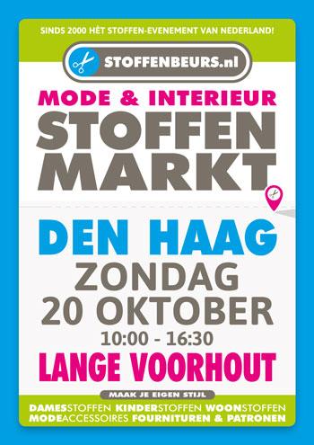 stoffenmarkt Den Haag 20 oktober