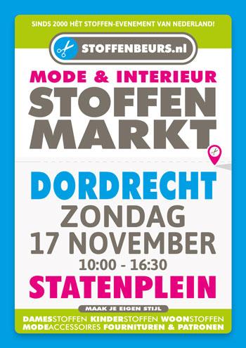 stoffenmarkt Dordrecht 17 november