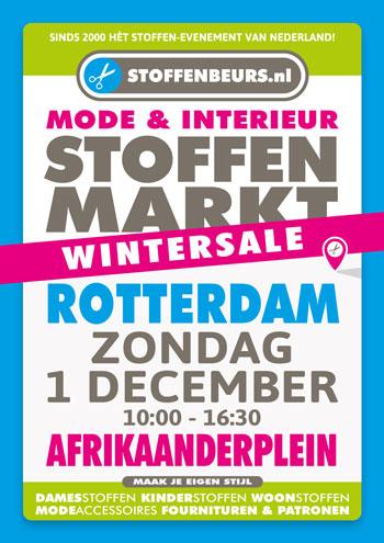 stoffenmarkt Rotterdam 1 december