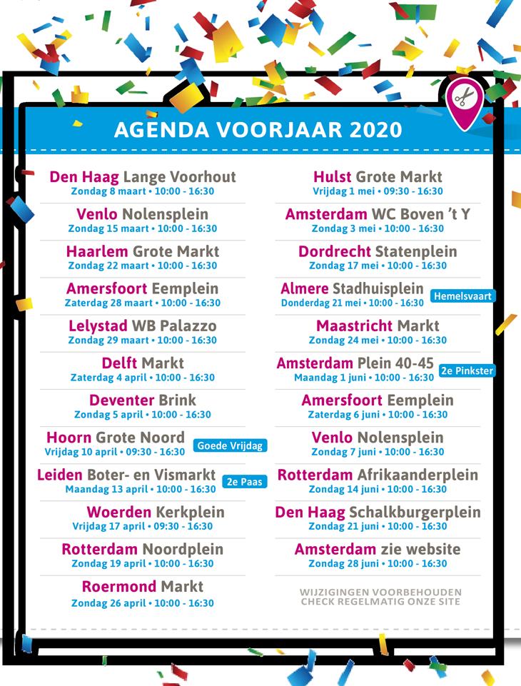 stoffenmarkt agenda voorjaar 2020