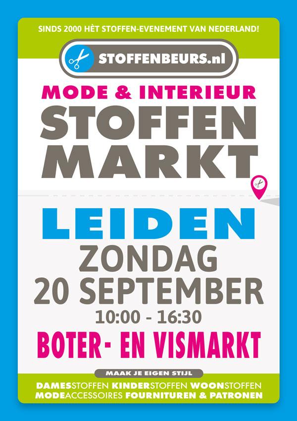 stoffenmarkt Leiden 20 september 2020